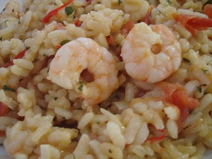 Chilli & Prawn Risotto