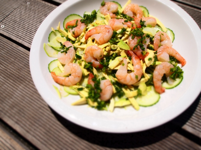 Granny Smith's Prawn Salad